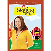 Signing Time Series 1 Vol. 7 - Leah's Farm