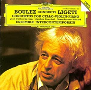 [CD] Concertos for cello, violin, piano / György Ligeti