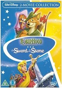 Robin Hood/Sword In The Stone (Disney) [DVD]