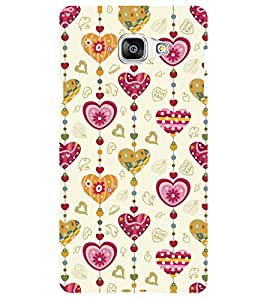 Chiraiyaa (heart pattern love) Designer Digital Printed Premium Back Cover Case for Samsung Galaxy J7 Prime (Multicolor)