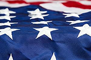 Veteran Appreciation US Flags - Nylon 3X5 ft - Highest Quality, Strongest, and Longest Lasting American Flag - 100% Made in USA and Sourced by US Veterans - Satisfaction Guaranteed