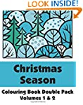 Christmas Season Colouring Book Doubl...