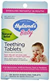 Hyland's Baby Teething Tablets, 67 Doses of Natural Baby Teething Pain and Irritability Relief, 135 Count