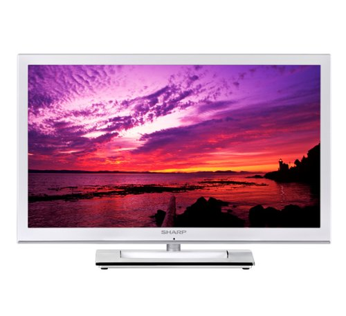 sharp lc24le250kwh 24 inch hd ready led tv with freeview top offers in electronics. Black Bedroom Furniture Sets. Home Design Ideas