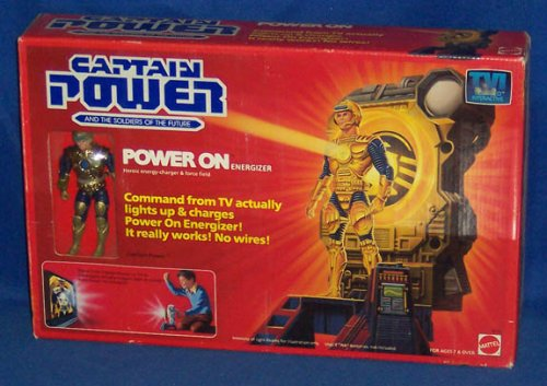 Buy Low Price Mattel Captain Power Power On Energizer with Captain Power Action Figure (B001DXBZHU)