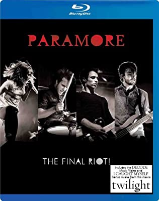 Paramore - The Final Riot! [Blu-ray]