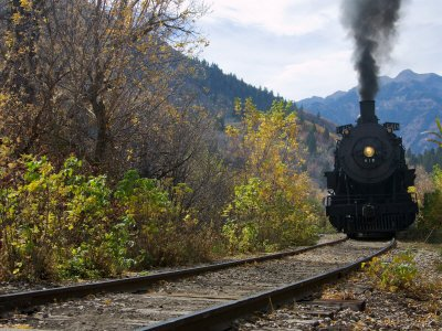 Steam Locomotive of Heber Valley Railroad