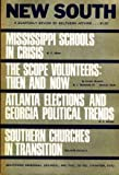 img - for New South: A Quarterly Review of Southern Affairs, Winter 1970 (Vol. 25, No. 1) book / textbook / text book