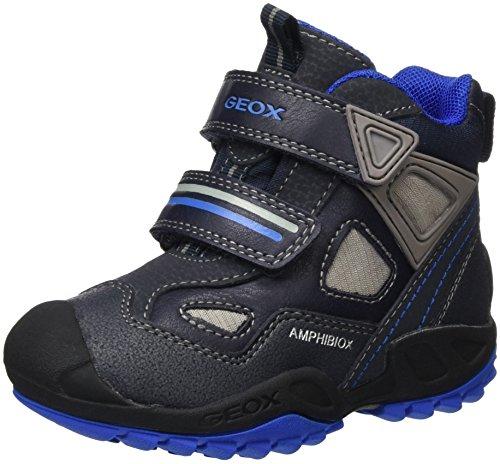 Geox Jungen J New Savage Boy B Abx C Sneakers, Blau (Navy/ROYALC4226), 27 EU