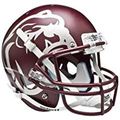 MISSISSIPPI STATE BULLDOGS Schutt AiR XP Full-Size REPLICA Football Helmet SNOW BOWL... by ON-FIELD