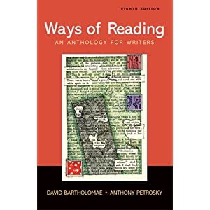 Ways of Reading: An Anthology for Writers online