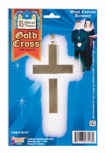 Spirit Cross Necklace Gold One Size Fits Most