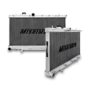 Mishimoto MMRAD-WRX-01 Manual Transmission Performance Aluminium Radiator for Subaru Impreza WRX and STI