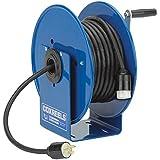 Coxreels Hand-Crank Steel Electrical Cord Storage Reel, Model# 112Y-12