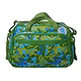 Tuc Tuc Green Print Kids Travel Bag. Baby Diaper Bag. Selvatic Collection.