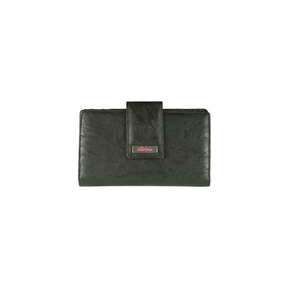 Kenneth Cole Reaction Womens Clutch with Mirror Style 194534/891 (Black)