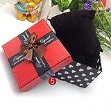 Culater Présent Cadeau Boîte Robuste pour Boîte de Montre Bijoux Bracelet Gourmette E