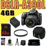 Sony DSLR-A390 Alpha Digital SLR Camera w/ Sony