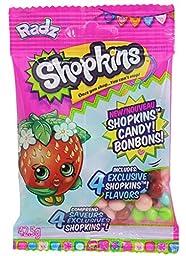 Radz Brand Shopkins Assorted Candy, 18 Count