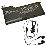 Extended Life Original OEM Battery for select Samsung Laptop / Notebook / Compatible with Samsung AA-PBYN8AB, NP530U4B, 530U4B-A01UK, 530U4B-A02US, 530U4B-A03, 530U4B-S01, 530U4B-S01AU, 530U4B-S01FR, 530U4B-S02, 530U4B-S03, 530U4B-S03ZA, NP530U4B-A01US, NP530U4B-A02UK, NP530U4B-S01PL, NP530U4B-S03CN, NP530U4B-S03PH, NP530U4BI, NP530U4B, BA43-00339A ( 6120 mAh ) - Includes Stereo Earphone with Microphone