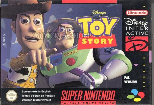Disneys Toy story - Super Nintendo - PAL