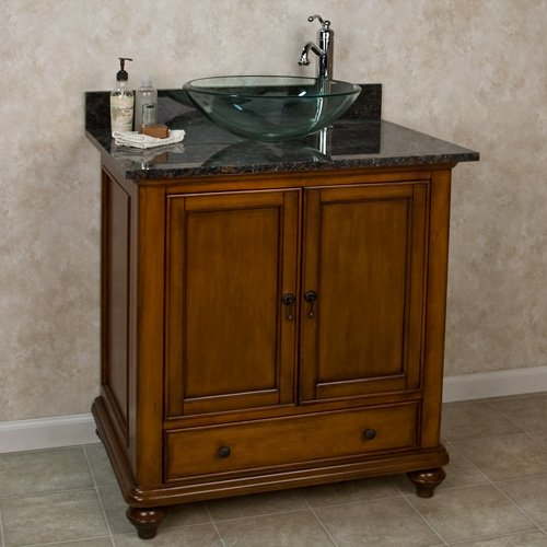 Cheap 36 Weston Vanity For Vessel Sink No Faucet Holes 3 4 Gr