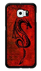 "Humor Gang Red Dragon Printed Designer Mobile Back Cover For ""Samsung Galaxy S6"" (3D, Glossy, Premium Quality Snap On Case)"