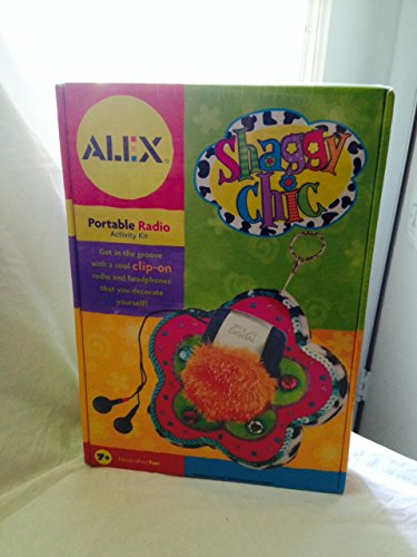 Alex Shaggy Chic Portable Radio