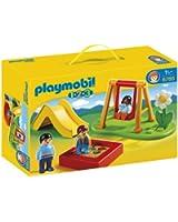 Playmobil - 6785 - Figurine - Enfants Et Parc De Jeux