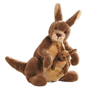Gund 10-Inch Jirra Kangaroo with Baby