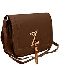 Tap Fashion Fancy Stylish Elegant Box Sling Side Bag Cross Body Purse For Women & Girls.
