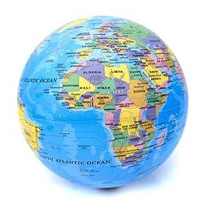 Revolving Globe - Detailed Rotating World Globe: Amazon.co.uk: Kitchen ...: www.amazon.co.uk/Revolving-Globe-Detailed-Rotating-World/dp/B005PVNXSK