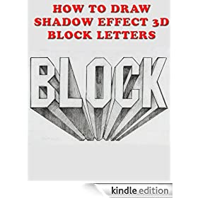How to Draw Shadow Effect 3D Block Letters eBook: Christian Ponder ...