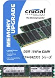 Crucial CT12864Z40B - 1GB DDR 400MHZ PC3200 - CL3 UNBUFFERED UDIMM 184PIN
