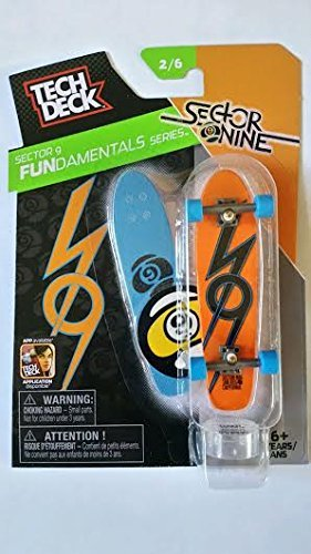 2015 Tech Deck Finger Skateboard Sector 9 Fundamentals Series 2/6 - Sector Nine - 1