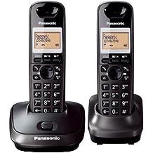 Panasonic KX-TG2512 Digital Cordless Phone (Black)