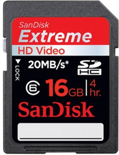 SanDisk Secure Digital High Capacity Card Extreme