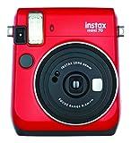 FUJIFILM インスタントカメラ チェキ instax mini70 レッド INS MINI 70 RED