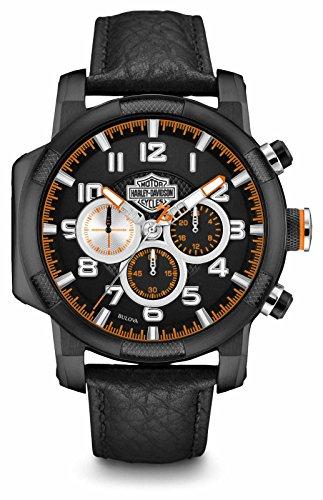 Harley-Davidson Montre Homme Chronographe Piston Case 78b139