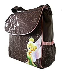 Tinkerbell Diaper Bag Backpack - Disney Fairy Tinker bell Adjustable Shoulder Bag