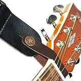 Fretfunk Attache à bouton pour sangle de guitare acoustique Marron