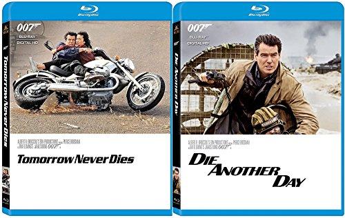 Die Another Day & Tomorrow Never Dies Blu Ray 2 Pack James Bond 007 Pierce Brosnan Set