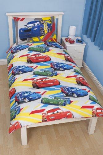 Ornamento disney cars biancheria piumino da letto 1 persona 1 federa - Biancheria letto disney ...