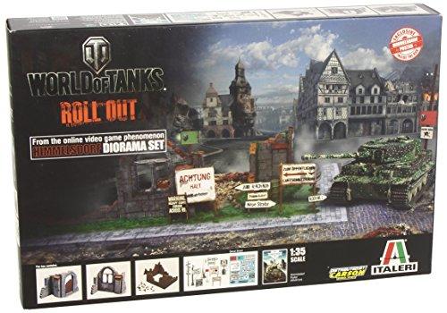 Italeri 510036505 - Diorama di Himmelsdorf, World of Tanks, scala 1:35