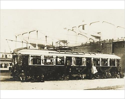 Photographic Print Of Electric Train Carriage - Egypt