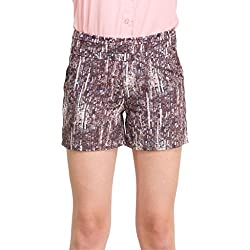 Oxolloxo Women's Brown Shorts