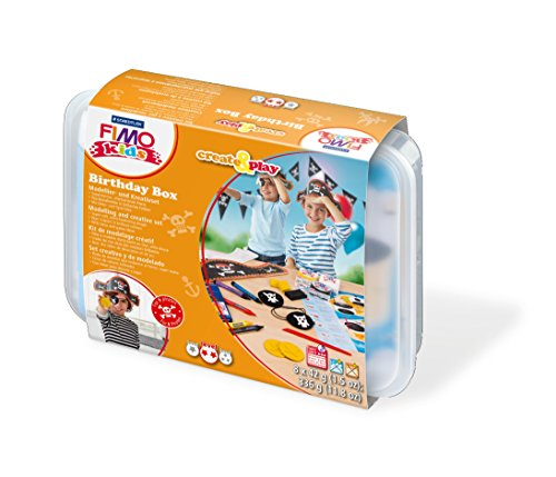 Staedtler 8033 05 - Fimo Kids Create and Play Birthday Box Pirat