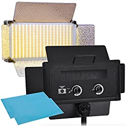 AW 2x 700pcs LED Bi-Color Light Panel Kit Photography Video Studio Lighting Dimmable 3200K-5500K