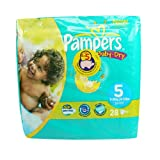 Pampers Baby-Dry Nappies Size 5 (Junior) x 28 Nappies