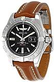 Breitling Women's BTA49350L2-BA07BRLD Galactic 41 Black Dial Watch